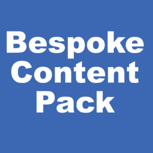 bespoke content packs