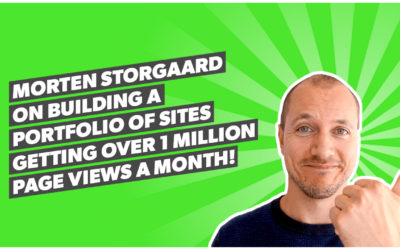 Morten Storgaard on building a portfolio of sites getting over 1 million page views a month!