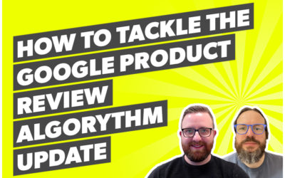 How to tackle The Google Product Review Algorythm Update